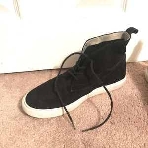 Kenneth Cole Lace-up high top women's sneakers